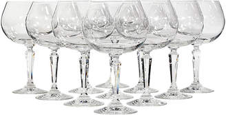 One Kings Lane Vintage Lenox Glass Goblets - Set of 11 - 2-b-Modern