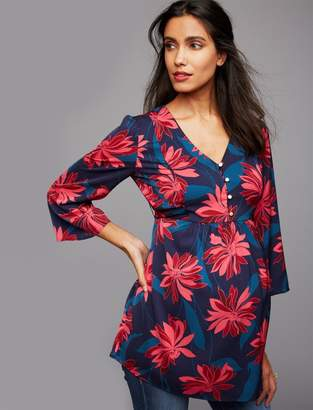 A Pea in the Pod Floral Print Maternity Tunic