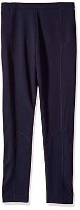 Joan Vass Women's Seamed Ponte Pant