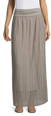 Peserico Stretch Pleated Skirt