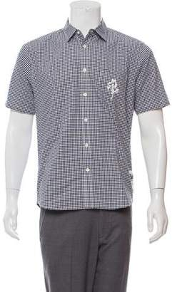 Mark McNairy New Amsterdam Gingham Button-Up Shirt