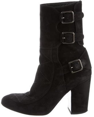 Laurence Dacade Suede Ankle Boots $295 thestylecure.com