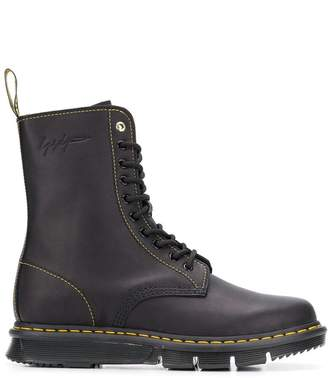 Dr. Martens x Yohji Yamamoto laced ankle boots