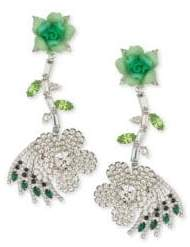 Dannijo Begonia Crystal Earrings