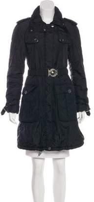 Burberry Knee-Length Puffer Coat
