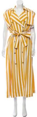 Maison Margiela Striped Shift Dress Striped Shift Dress