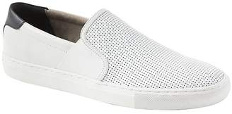 Banana Republic Dylin Perforated Leather Slip-On Sneaker
