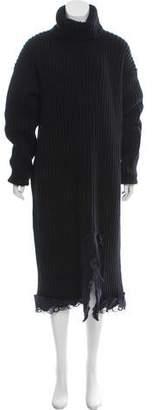 Balenciaga Chunky Wool Dress