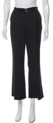 Elizabeth and James High-Rise Flared Pants Black High-Rise Flared Pants
