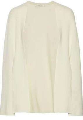 Halston Wool And Cashmere-Blend Cape