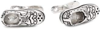 """Rotenier Atelier"""" Sterling Dress Shoes and Shoe Horn Cufflinks"""