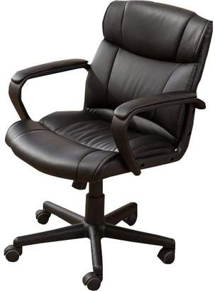Symple Stuff Computer Padded Armrest Mid-Back Office Desk Chair