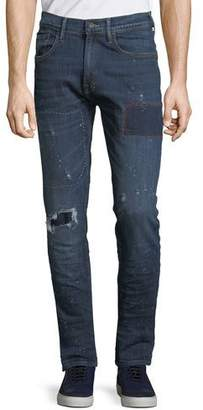 PRPS Men's Le Sabre Comfort-Stretch Tapered Jeans