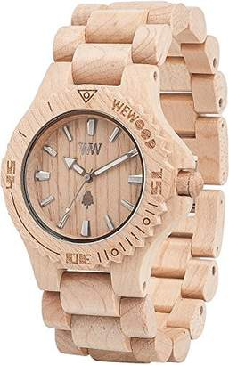WeWood watch Wood / wooden DATE BEIGE 9818025 Men's [regular imported goods]