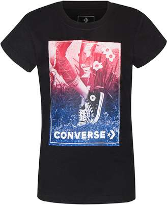 Converse Girls 7-16 Chuck Taylor All Star Photo Box Graphic Tee