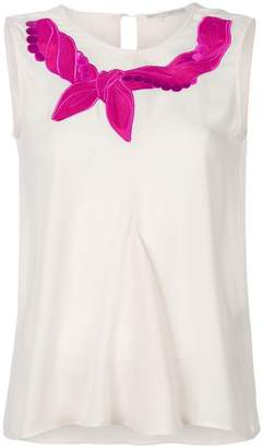 Marco De Vincenzo embroidered tank top