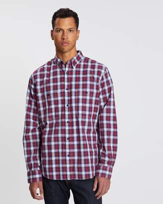 Drizabone Seaton Long Sleeve Plaid Shirt