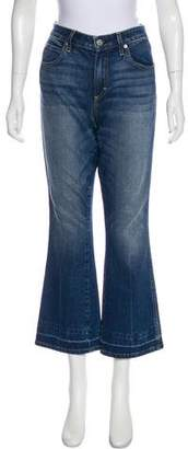 Amo Mid-Rise Flared Jeans