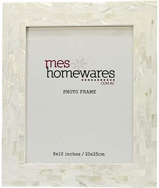 Mother of Pearl Mes Homewares Thick Border Photo Frame, 8x10