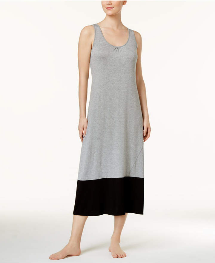 Alfani Alfani Colorblocked Knit Nightgown, Only at Macy's
