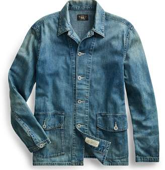 Ralph Lauren Cotton-Linen Denim Overshirt