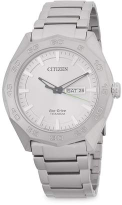 Citizen Men's Classic Titanium Bracelet Watch