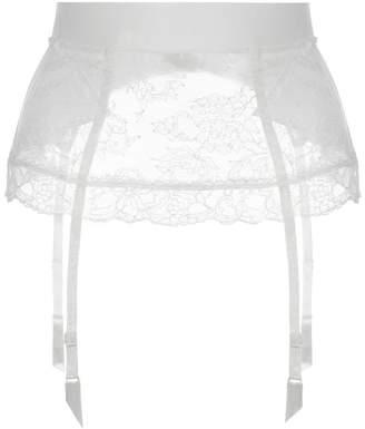 La Perla Shape-Allure Lycra Control Fit Suspender With Chantilly Lace