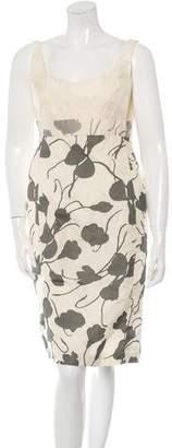 Narciso Rodriguez Patterned Sleeveless Dress