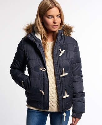 Superdry Marl Toggle Puffer Jacket