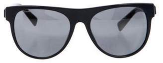 Versace Round Tinted Sunglasses