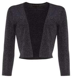 Phase Eight Shimmer Salma Knit Crop Jacket