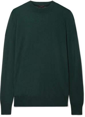 Joseph Cashmere Sweater - Emerald