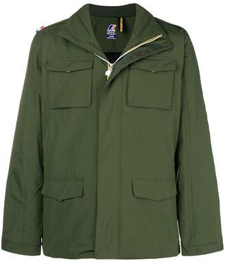 K-Way multi-pocket zip jacket