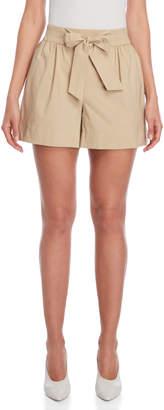 Moschino Tie-Waist Shorts
