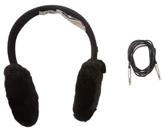 UGG Genuine Sheepskin Knit Wired Earmuffs