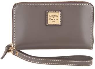 Dooney & Bourke Selleria Florentine Leather Phone Wristlet