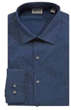 Kenneth Cole Reaction Contrast Printed Dress Shirt