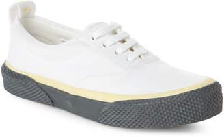 Celine Canvas Lace-Up Sneakers