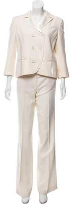 Diane von Furstenberg Wool & Silk Pantsuit w/ Tags