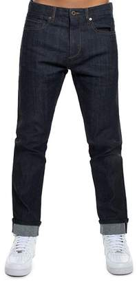 Sean John Side-Stripe Relaxed Fit Jeans in Raw Indigo