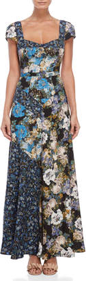 Free People La Fleur Sweetheart Maxi Dress