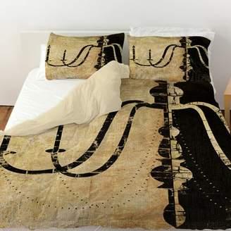 Manual Woodworkers & Weavers Chandelier Single Duvet Cover