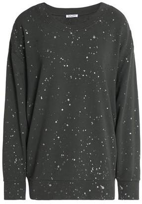 Splendid Painted French Cotton-Terry Sweatshirt