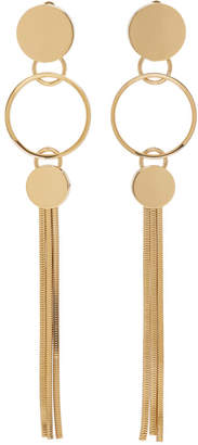 Lanvin Gold Drop Earrings
