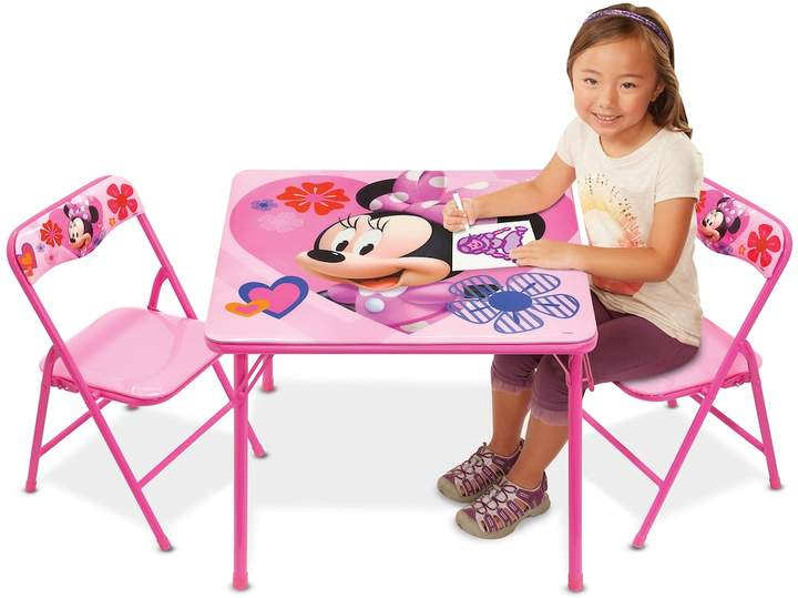 Disney Disney's Minnie Mouse Activity Table & Chairs Set