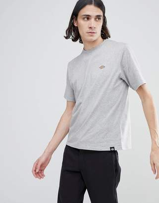Dickies Stockdale T-Shirt With Small Logo In Gray