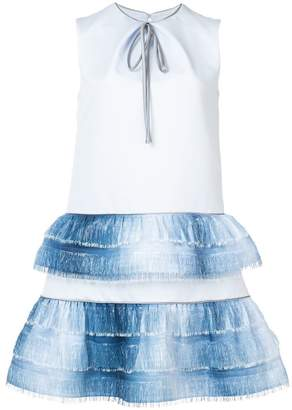 Nha Khanh short ruffled dress