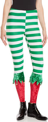 Derek Heart Christmas Jingle Elf Leggings
