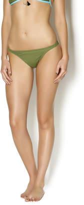 Love the Beach Olive Green Bikini Bottom