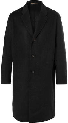 Acne Studios Chad Wool and Cashmere-Blend Coat - Men - Black